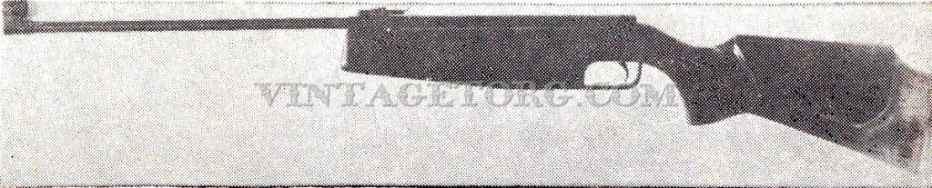 Винтовка пневматическая ИЖ-38П рисунок 1