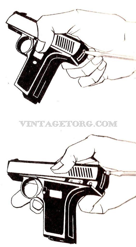 Пистолет Reck G 5 рисунки 3 и 4