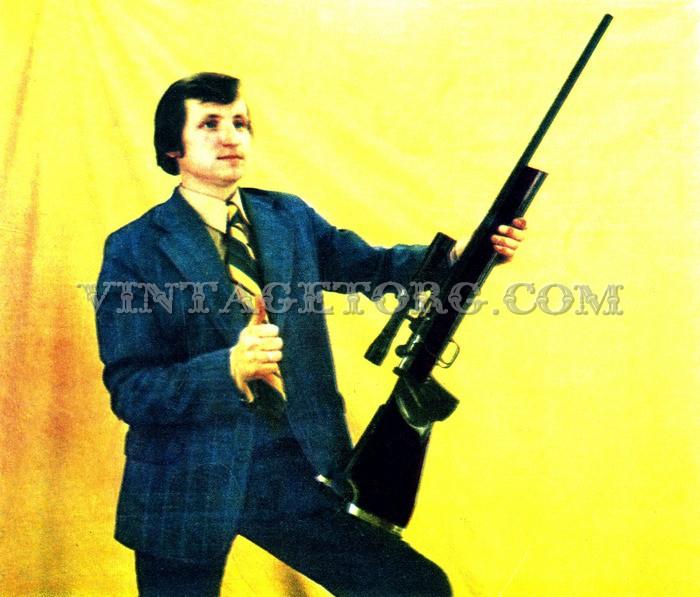 Спортивная винтовка БК-3 фото
