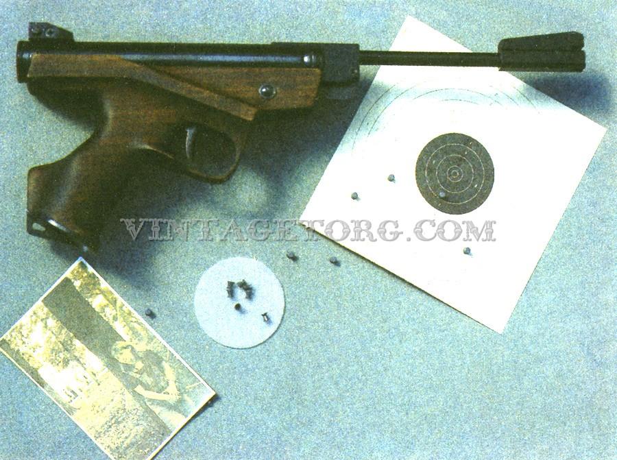 Пневматический пистолет ИЖ-53 фото 2