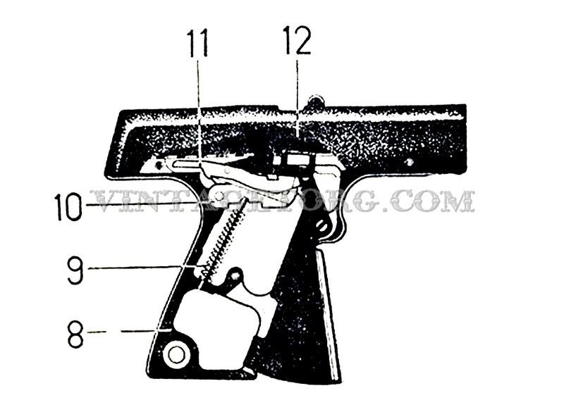 Пистолет стартовый ИЖ СПЛ 01 рисунок 2