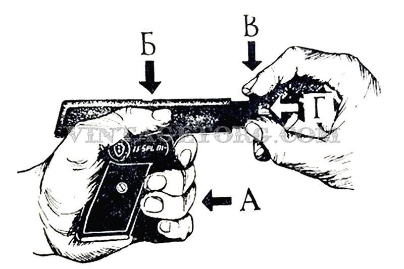 Пистолет стартовый ИЖ СПЛ 01 рисунок 3