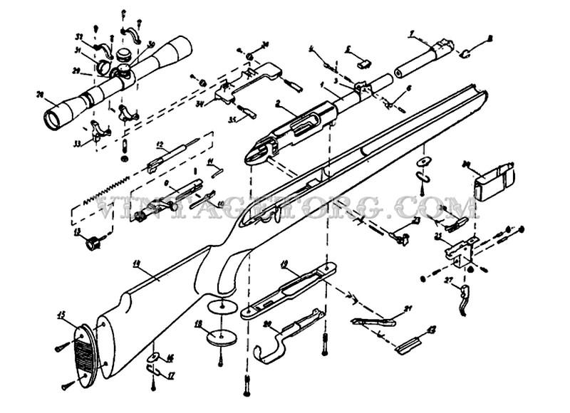 Карабин Барс устройство